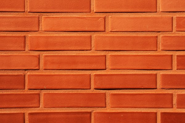 red brick wall: red brick wall