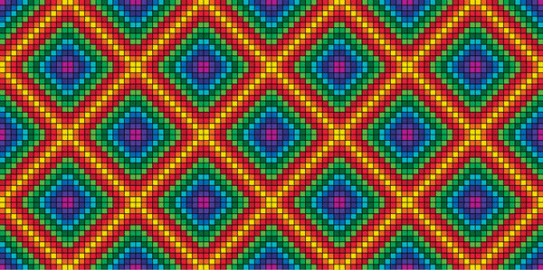 large pattern rainbow: a (very) large sized version of the rainbow pattern block