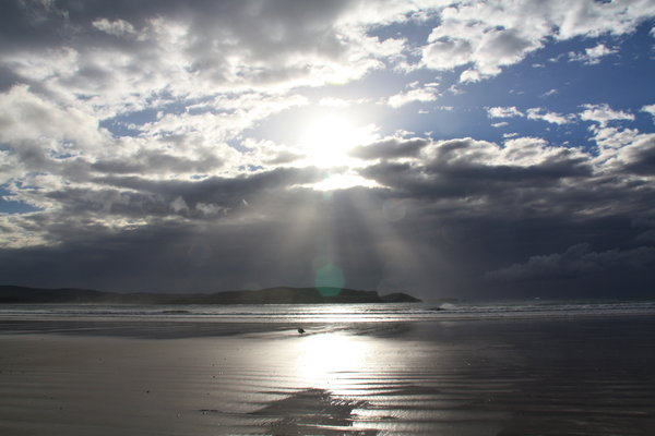 morning beach: made this picture in New zealand, Curio Bay on a beautifull morning
