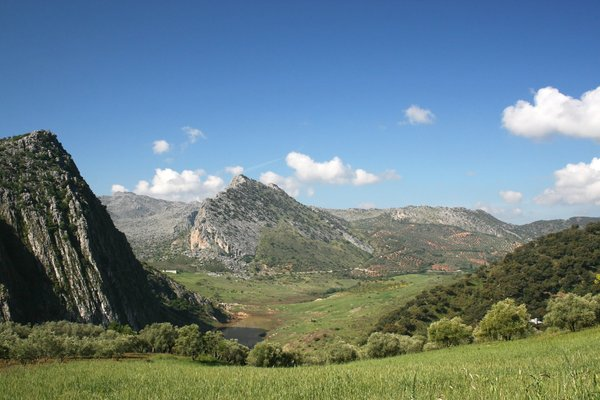 Mountain landscape: Mountainous landscape in Andalucia, Spain.
