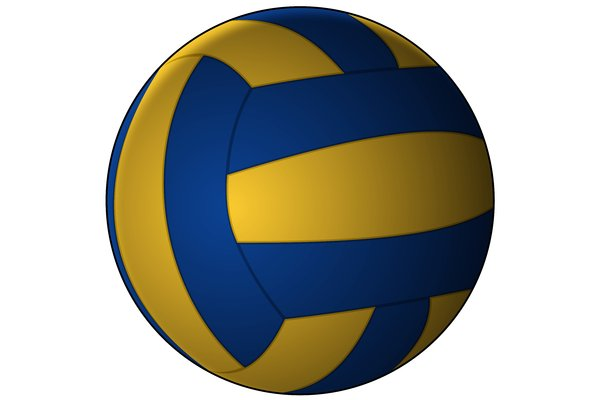 Background Abstract Sport Volleyball Blue Yellow Ball: Free Stock Photos - Rgbstock - Free Stock Images