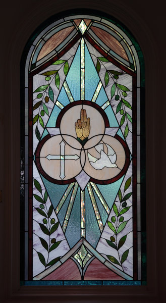 Stained Glass: Stained glass window
