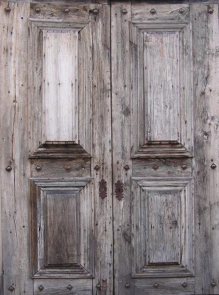 Wooden door: An old wooden door. - Free Stock Photos - Rgbstock - Free Stock Images Wooden Door