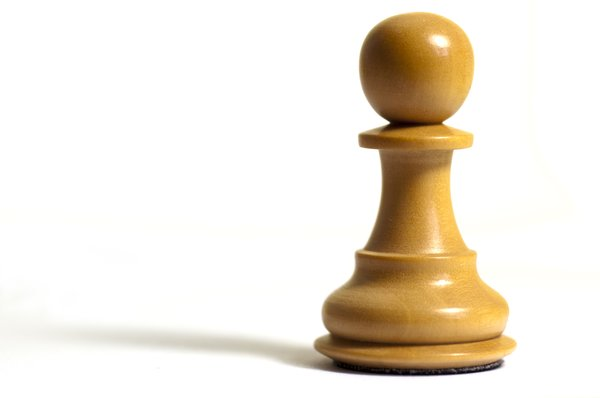 Chess Pawn: Isolated pawn from a chess set
