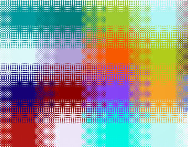dotty colours1: abstract backgrounds, textures, patterns, geometric patterns, shapes and perspectives from altering and manipulating images