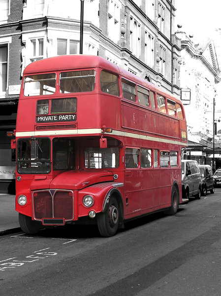 Double Decker: Classic London City Bus