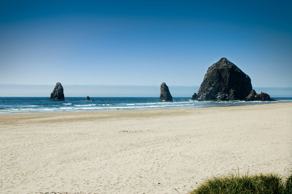 Ocean in a Haystack: Sorry, bad title. 'Twas a beautiful summer day in Oregon!