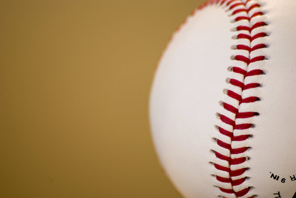 Ready for Action!: Brand new baseball, ready to start the season!