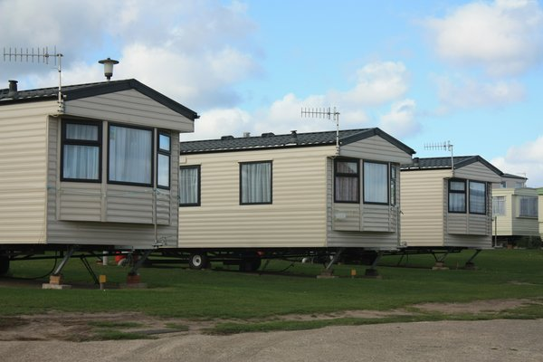 Caravans: Images of a caravan park