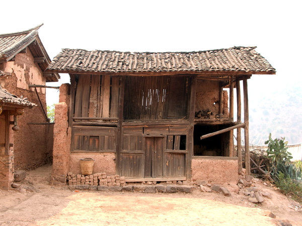 oriental chinese village hut: oriental chinese village hut