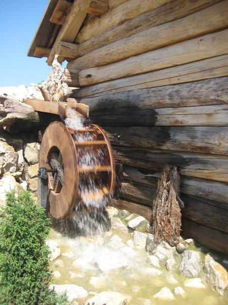 old watermill: none