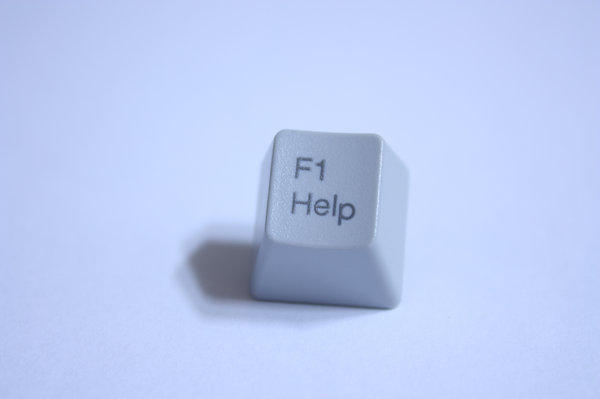 Computer key: A computer key for Help