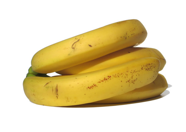 four bananas: none
