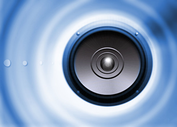Speaker background: Vector background