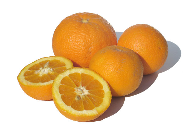 oranges: none