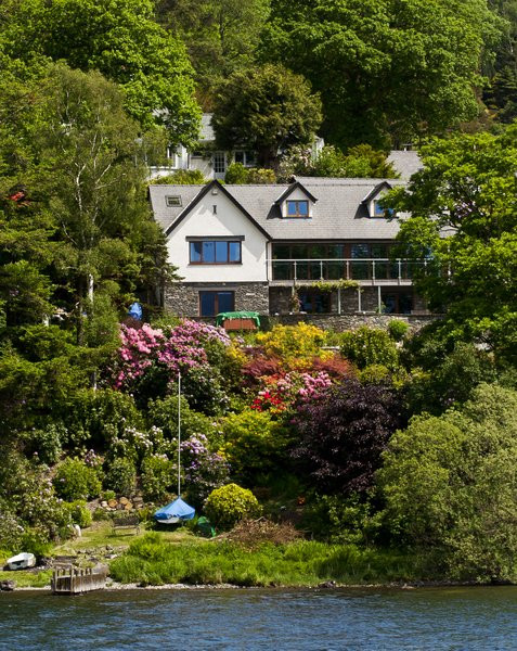 Des Res: Lakeside property, Windermere, UK.