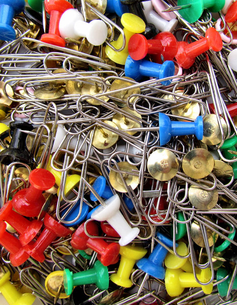stuck in the office1: office stationery fasteners