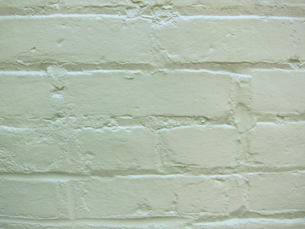 White Bricks: White painted bricks.