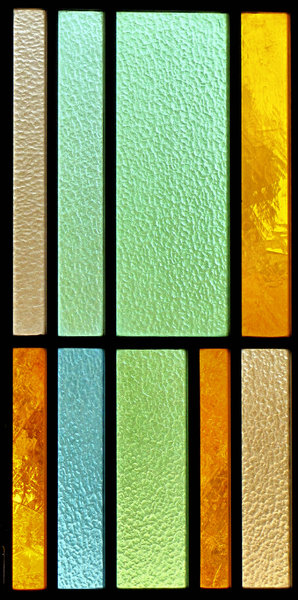 textured coloured glass4: textured stained glass windows