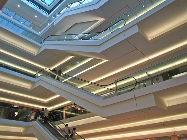 shopping mall interior 2: shopping mall interior 2