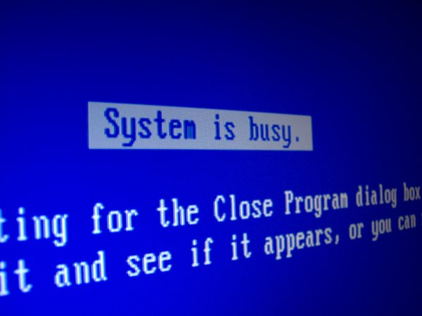 Blue Screen of Death: Remember Win 98? I have to use my old computer until my newer one comes back from the shop. I do not miss this screen at all (I get it about three times a day now).