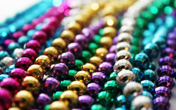 Party Beads: A shot of my beads I got at the last fair here in town. Also my first shot uploaded here with my new Rebel T1i !!!