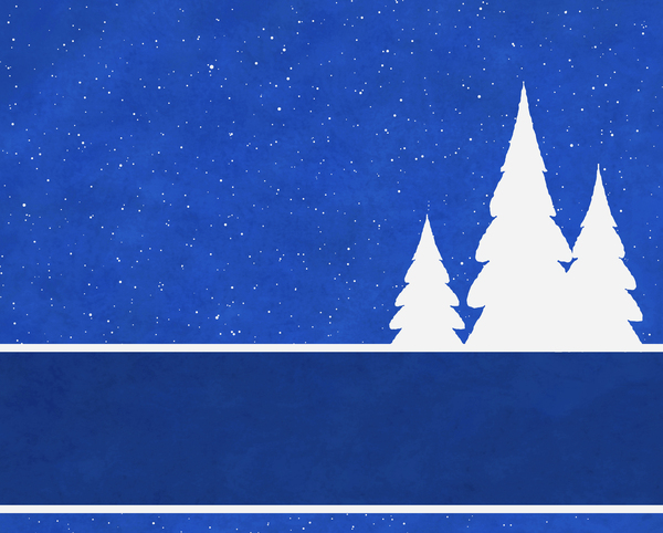 Christmas Tree Banner 3: Abstract Christmas tree banner