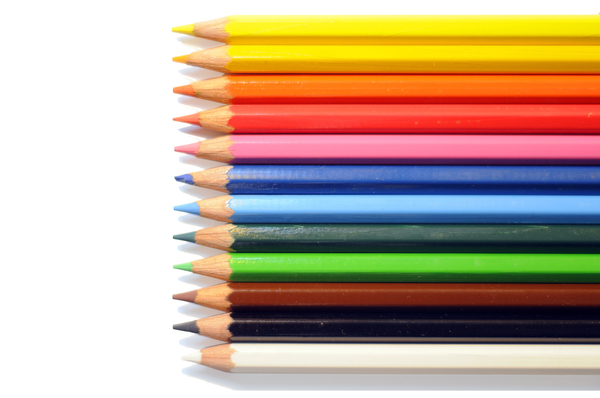 Pencils: colored pencils