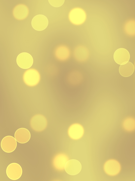 Bokeh or Blurred Lights 12: Bokeh, or blurred background lights inyellow, beige, gold and white. Suitable for a background, Christmas greetings, holiday greetings, texture, or fill.