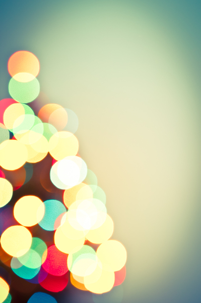 Christmas Lights Bokeh 1: Photo of christmas lights bokeh