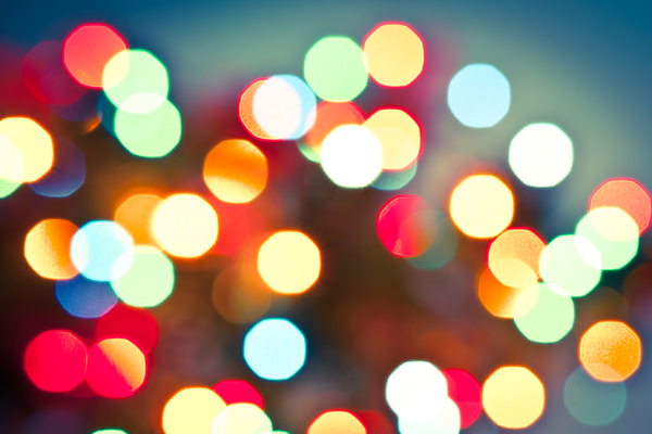 Christmas Lights Bokeh 2: Photo of christmas lights bokeh
