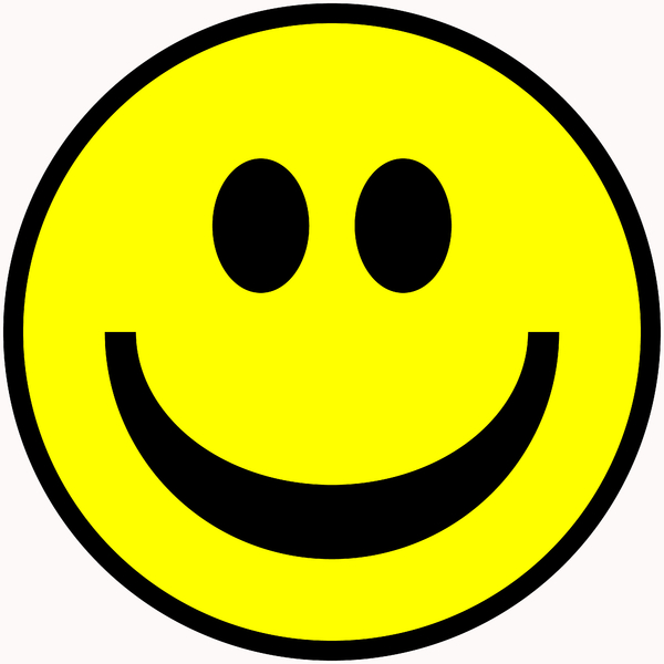Smiley Face 2: Classic smiley face symbol. Great for emoticons, icons, illustrations, buttons, etc.
