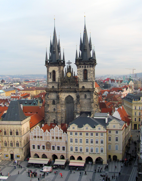 Prague: Tyn Church, Prague, Czech Republic