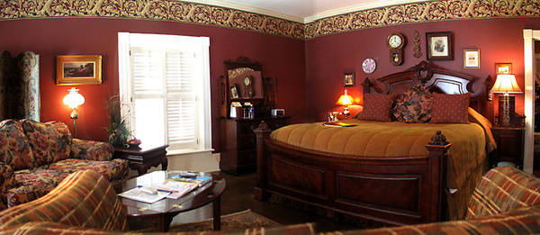 Stately bedroom: The state bedroom