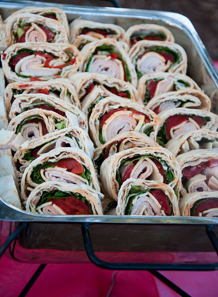 Wraps: Wraps for a party