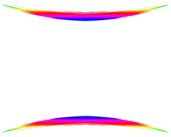 Rainbow Swoosh 5: A blank canvas with an attention-getting double rainbow swoosh. Use creatively and within RGBStock's image licence. You may prefer this: http://www.rgbstock.com/photo/nGMI0Ey/Rainbow+Swirls+2  or this:  http://www.rgbstock.com/photo/2dyXm9r/Waves+6
