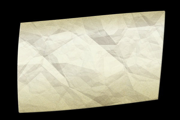 Crumpled Note Background: A crumpled and dirty sticky note suitable for a background, texture or banner, etc.