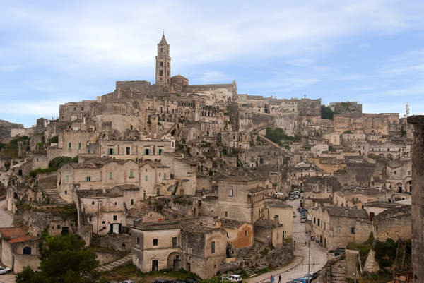 Beautiful Matera in Puglia: The beautiful city of Matera in Puglia (Italy)