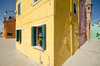Colorful housing in Burano