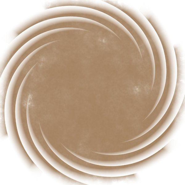 Stained Grunge Background 2: A circular stained grunge background with a swirly decorative border. Useful for paper, parchment, banners, background, texture, fill or element. Beige or sepia and white colours.