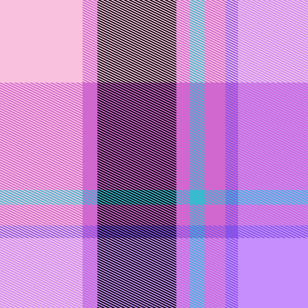 Tartan or Plaid 7: A complex tartan pattern in several cool colours. A useful fill, texture, background or element. High resolution.