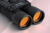 Binocular with red lens