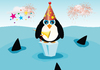 New Years Penguin ...