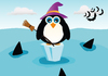 Halloween Penguin ...