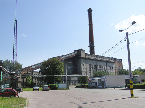 Paper factory: A paper factory in Konstancin-Jeziorna.