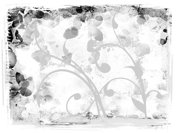 Swirls on Grunge 1: A grungy background with ornate swirls.