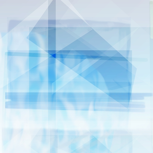 Cool Blue Composite: A composite I made of various shapes, grids, and gradients.  I was going for a cool, futuristic look here--maybe useful as a background for a banner or website.