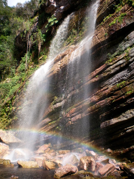 Capivari Waterfall 1: Capivari Waterfall - Chapada Diamantina