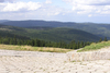 Czech mountains panorama