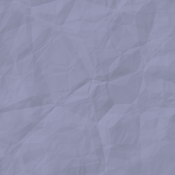 Wrinkled Paper Texture 4: A square piece of crumpled, wrinkled blue or violet paper suitable for a great background, texture, fill, or design element. You may prefer this:  http://www.rgbstock.com/photo/n3cU7Ac/Crumpled+Coloured+Paper+Pink  or this:  http://www.rgbstock.com/photo/